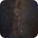 Cassiopeia region (between Cepheus and Perseus) a piece of the Milky way mosaic,                                Kees Scherer