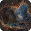 IC1805 - The Heart Nebula Revisited,                                Paddy Gilliland
