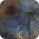 Ic1396 SHO avec S synthétique,                                astromat89