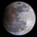 2016 Harvest Moon penumbral eclipse at 18:54 UTC,                                Giuseppe Donatiello