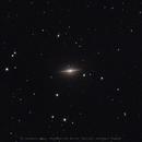 Sombrero Galaxy,                                monsak