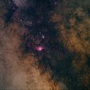 Sagittarius (M8 & M20) wide field,                                m_abdulkareem