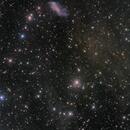 IC 2574 and IFN,                                Toshiya Arai