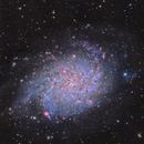 M33 - Triangulum Galaxy LHaRGB,                                Brad