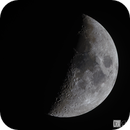 Luna- Waxing Crescent 2017-05-31,                                Chris R White