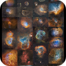 A collection of Sharpless catalog objects,                                Metsavainio