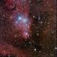 NGC 2264 - Cone / Cristmas-tree Nebula - Hubble's Variable Nebula,                                Hartmuth Kintzel