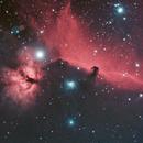 Horsehead and Flame Nebulae,                                Marco Rapino