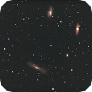 Leo Triplet with a C8 Fastar F2 of 2005 - only 20 minutes integration,                                Stefano Ciapetti