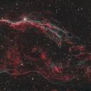 Western Veil Nebula,                                Damien Cannane