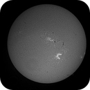 7-hour animation full solar disc on 5 September 2017,                                Andy Devey