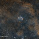 NGC6888 - Crescent Nebula RGB HAlpha OIII,                                José Fco. del Agu...