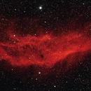 NGC1499: The California Nebula (2019),                                Daniel Tackley
