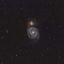 Whirlpool Galaxy - M51,                                apothegary