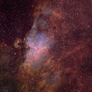 The Eagle (M16) Nebula in narrowbands.,                                David Nguyen