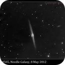 NGC 4565, Needle Galaxy,                                David Dearden