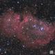 Soul Nebula- IC1848 LRGB,                                Chris R White