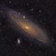 M31 - Andromeda Galaxy,                                David Hickey