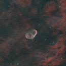 NGC 6888 Crescent Nebula and Soap Bubble,                                JohnAdastra