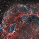 Bubbles : Simeis 147 , SH2-240, S147 Spaghetti Nebula,                                Georges ATTARD