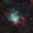 NGC 346 in HaORGB,                                Utkarsh mishra