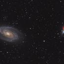 M81 and M82 - HaLRGB,                                Lee B