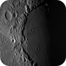 Moon Cleomedes and Mare Crisium sunset,                                Riedl Rudolf