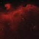 Sh2-292 - IC2177 - Seagull Nebula in HαRGB,                                Uwe Deutermann