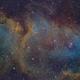 The Soul Nebula - IC1484 with the Hubble Pallet,                                Cfosterstars