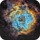 NGC2244 in SHO,                                Georges