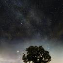 Lunar Eclipse, Mars Opposition, Milky Way,                                Bernhard Himmer