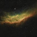 NGC 1499 - The California Nebula (SHO),                                Callum Wingrove