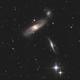 Arp 286 - NGC 5566, NGC 5569, & NGC 5560 in Virgo,                                Jarrett Trezzo