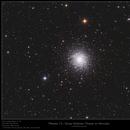 Messier 13 - Great Globular Cluster in Hercules,                                Frank Schmitz