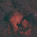 North America and Pelican Nebulae,                                JDJ