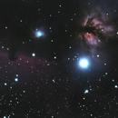 Horsehead and Flame Nebulae (B33 & NGC 2024/Sh2-277),                                Craine