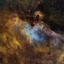 M 16 Hubble palette,                                FrancescoTallarico