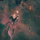 M16-Ha-RVB-image by Liverpool Telescope,                                Adel Kildeev
