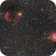 Asteroids at Castor's feet, IC 443, NGC 2174,                                Okke_Dillen