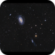 NGC 4725 and 30 other galaxies from last night,                                Göran Nilsson