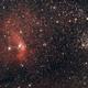 Bubble and M52,                                Jocelyn Podmilsak