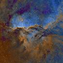 Dragones de Ara , The Rim Nebula NGC 6188 y NGC 6164,                                Sady  Contreras