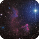 Gamma Cassiopeiae with IC59 and IC63 - HaRGB,                                Thomas Richter