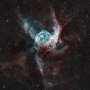 NGC-2359 Thor's Helmet in HOO,                                Ryan Kinnett