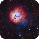 M20 SHO in a wash of Ha (with more data),                                Ben