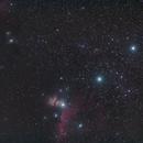 M078 2017 + IC434 NGC2024,                                antares47110815