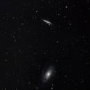 Messier 81 and Messier 82,                                WanderingPulsar