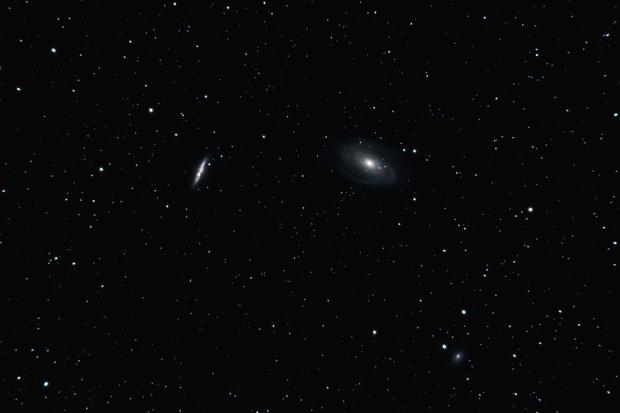 Bode's M81 & Cigar M82 Galaxies,                                Gideon Golan