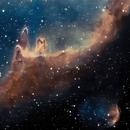 Nebulous portion of the Soul Nebula IC 1871,                                Mike
