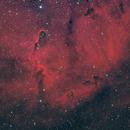 IC 1396 Elephant's Trunk nebula HaRGB,                                Audrius